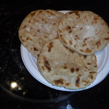 St John's Sourdough Flour Tortillas second slice