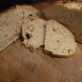 St John's Sourdough St John's Sourdough Bread first slice