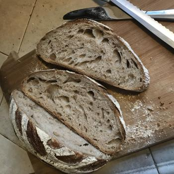 Stanton Starter Sourdough first slice