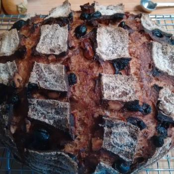 Tony Whole wheat raisin walnut second slice